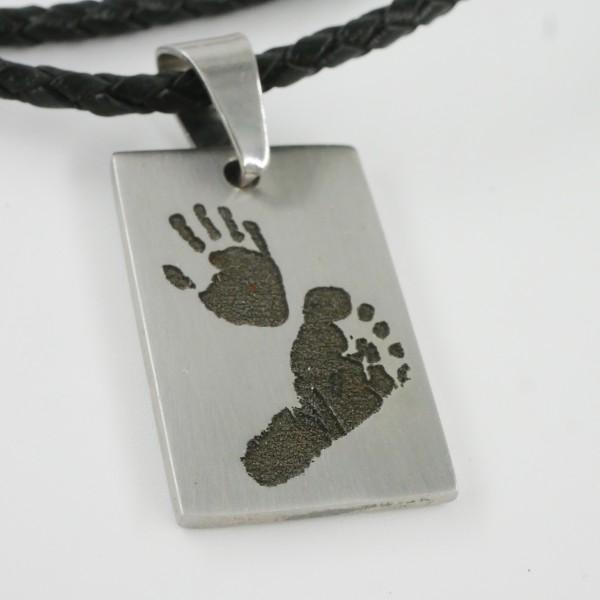 Dad`s Baby, Stammhalter - Fuß oder Handabdruck