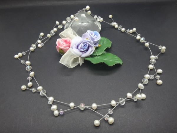 Perlencollier, Brautschmuck