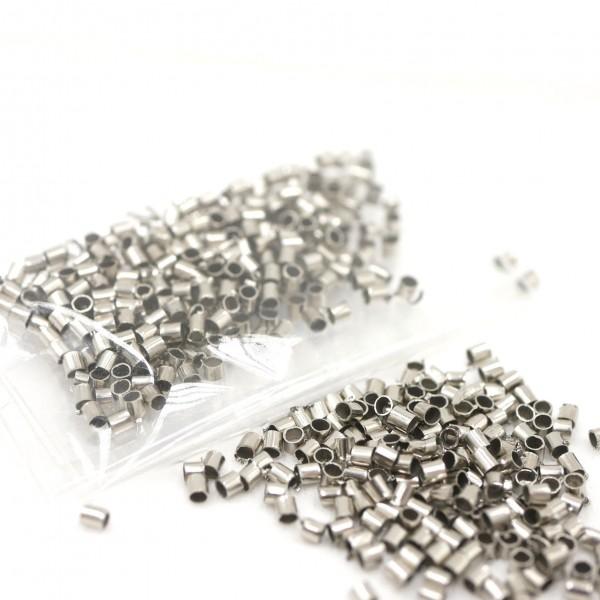 MINI Quetschperlen Metall, Crimps 200 st/2gr mm (K/5-D8)