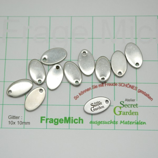 Tags , Schmuckanhänger Logoi, Laser Gravur, secret garden