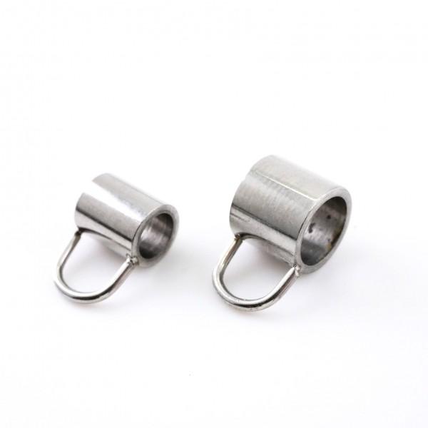 Anhängeröse, Edelstahl, Anhänger und Öse 6mm, 4,5mm (K7/C8-7)