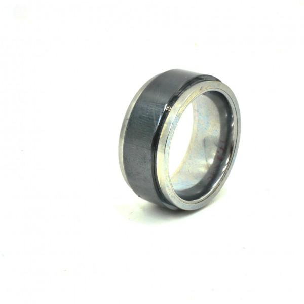 Keramik Tungsten Wolfram Ring incl Gravur 8mm nur 1 x vorhanden