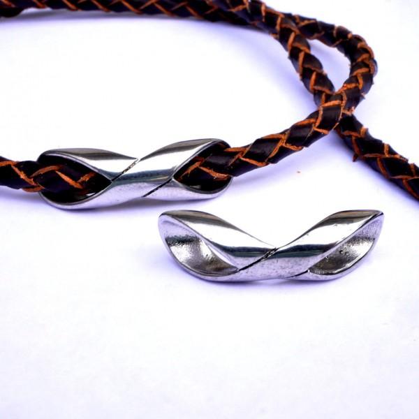 Infinity großlochperle lang edelstahl PF-IN-7014